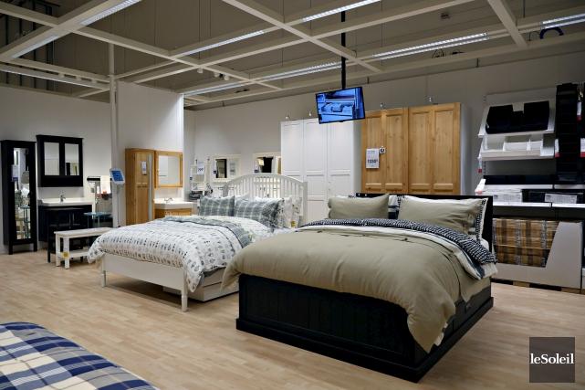 Ikea Canada ajoute le service PayPal à ses options de paiement pour les achats... (Le Soleil, Frédéric Matte)