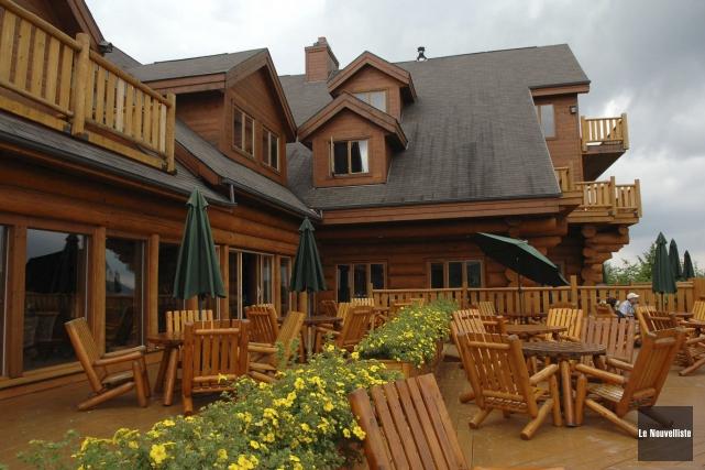 L'hôtel Sacacomie de Saint-Alexis-des-Monts compte 500 nuitées réservées... (Archives Le Nouvelliste)