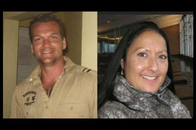 Les victimes, Martin Bélair et Nancy Beaulieu.... (tirées de Facebook)