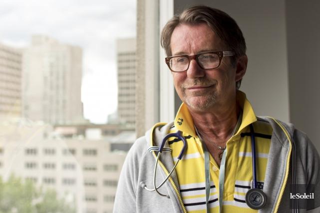 Le Dr Réjean Thomas est président-directeur général et... (Photothèque Le Soleil)