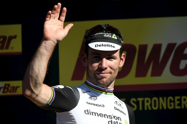 Mark Cavendish... (AFP)