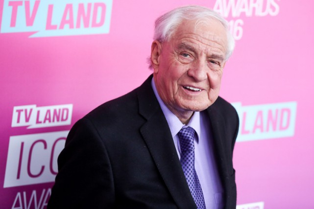 Garry Marshall en avril dernier.... (PHOTO AP)