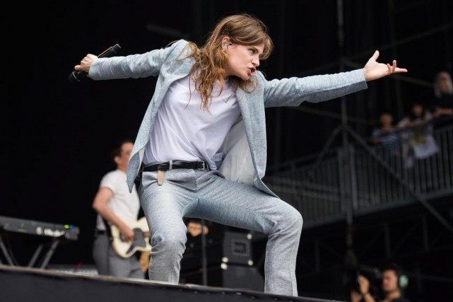Le groupe Christine and The Queens sera de... (Photo Charles Sykes, Archives Associated Press)