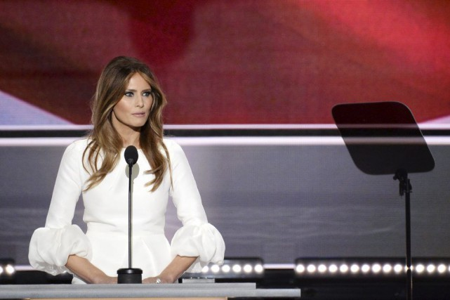 Melania Trump... (Photo Robyn Beck, Agence France-Presse)