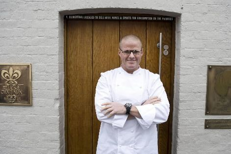 Le chef Heston Blumenthal.... (PHOTO ARCHIVES AFP)