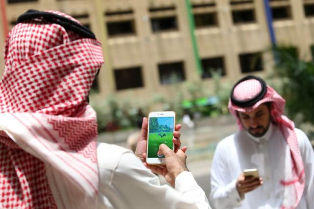 Selonle mufti du royaume, la conception des personnages... (PHOTO AFP)