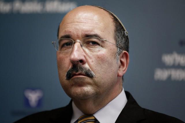 Le ministère israélien des Affaires étrangères, Dore Gold.... (PHOTO AFP)
