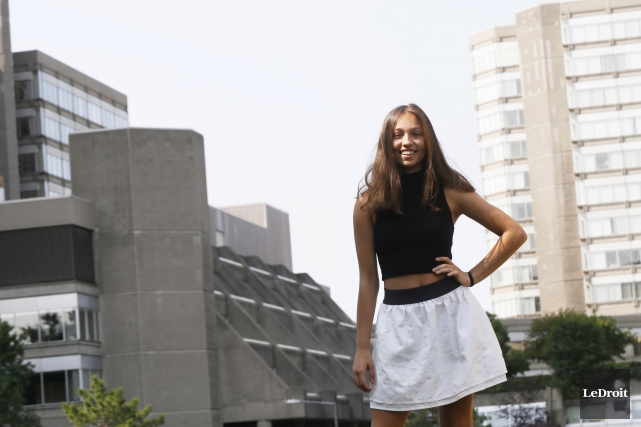 Lara Renaud a été sélectionnée au sein d'un... (Simon Séguin-Bertrand, LeDroit)