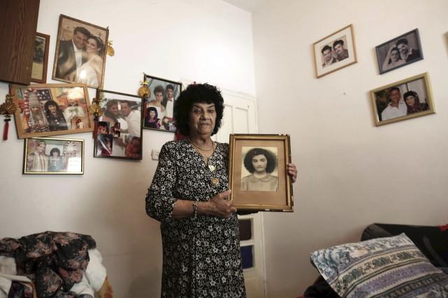 Il y a 66 ans, Shoshana Dougma, aujourd'hui... (AFP, MENAHEM KAHANA)