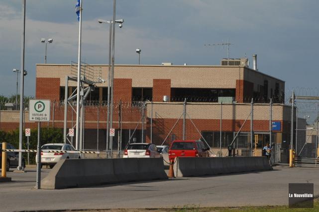 La prison de Trois-Rivières.... (Photo: Ève Guillemette)
