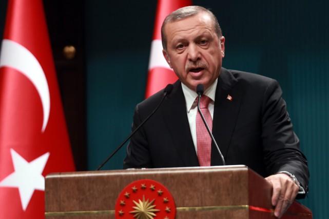 Sans les citer, Recep Tayyip Erdogans'est dit convaincu... (AFP)