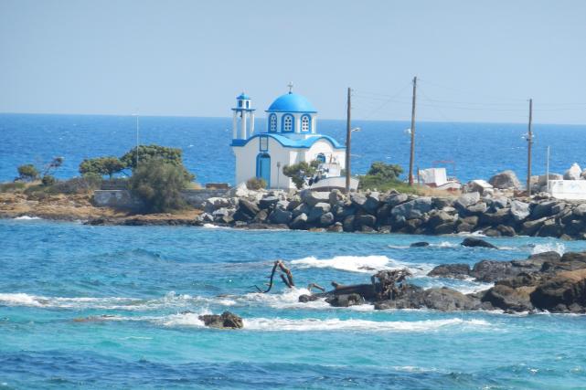 La plage mesahti, sur l'ïle d'Ikaria, en Grèce... (123rf, Simo)