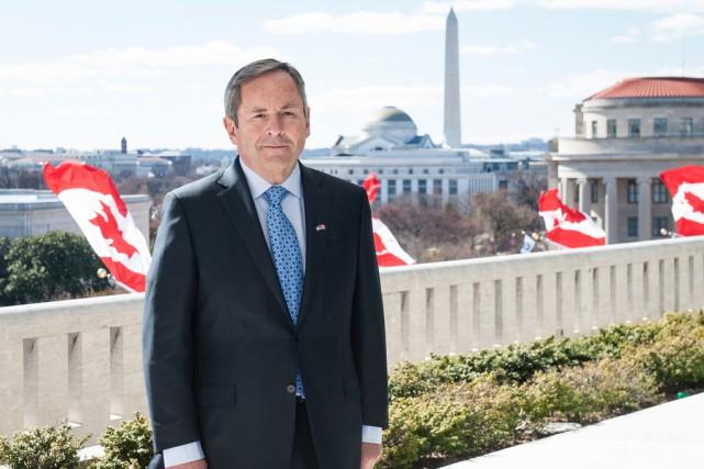 L'ambassadeur du Canada aux États-Unis,David MacNaughton... (fournie)