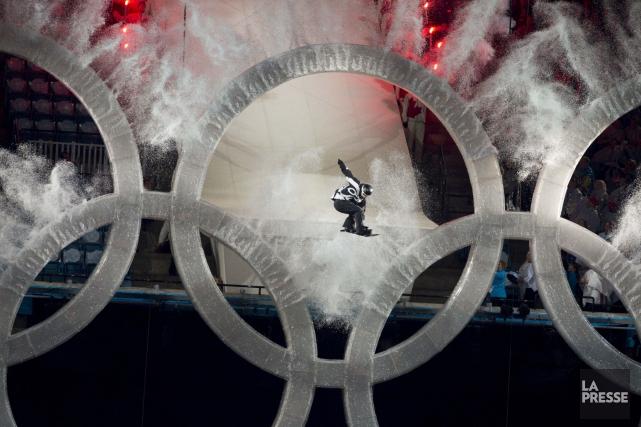 Cérémonie d'ouverture des Jeux olympiques de Vancouver... (Archives La Presse)