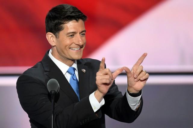 Paul Ryan peine à dissimuler ses ambitions pour... (PHOTO AFP)