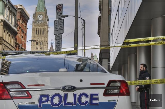 Le taux de criminalité a connu un léger recul dans la région d'Ottawa en 2015,... (Patrick Woodbury, Archives LeDroit)