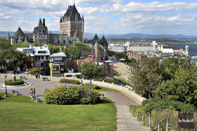 La région de Québec enregistre en 2015 le... (Le Soleil, Patrice Laroche)