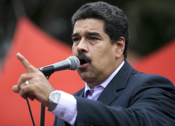 Le président vénézuélien, Nicolas Maduro... (PHOTO ARCHIVES AP)