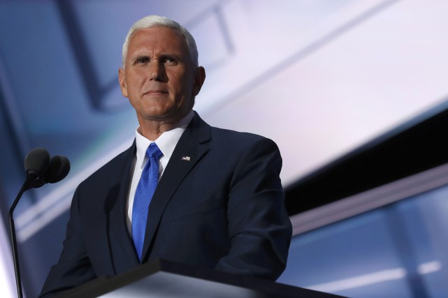 Mike Pence a été choisi par Donald Trump la... (REUTERS)