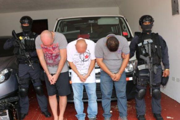 Une saisie de 212 kg de cocaïne a... (Photo fournie par la police nationale du Panama)