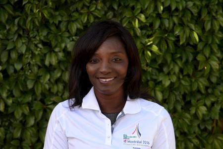 Bineta Gueye fait partie de l'équipe des communications... (Courtoisie)