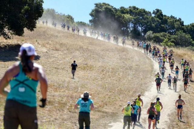 Les athlètes à peine arrivés au ranch d'Aromas,... (Photo Crossfit Games)