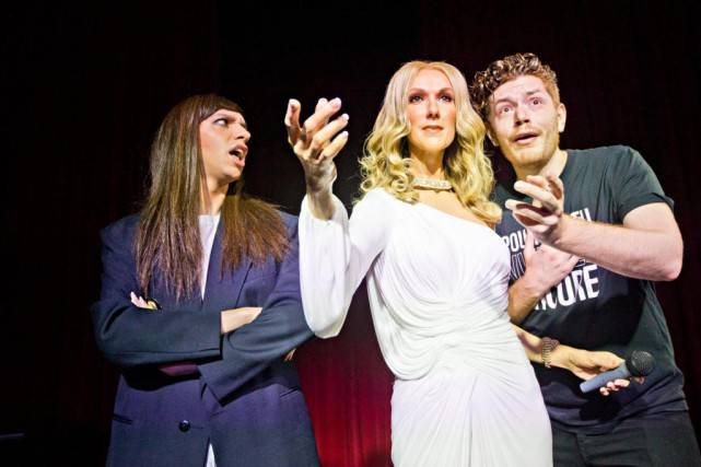 La première déteste Céline Dion, le second l'adore.Tranna... (PHOTO PATRICK SANFAÇON, LA PRESSE)