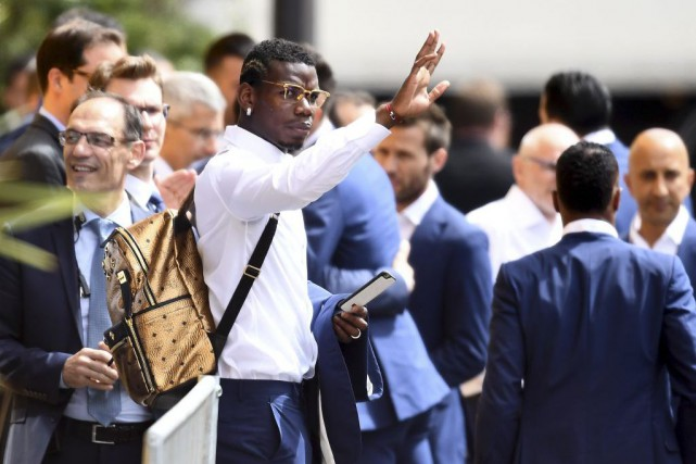 Paul Pogba... (Photo Franck Fife, archives Agence France-Presse)