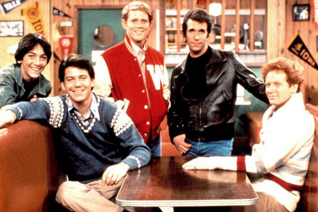 Happy Days (1974-1984) est le premier succès solo... (Photo fournie par ABC)