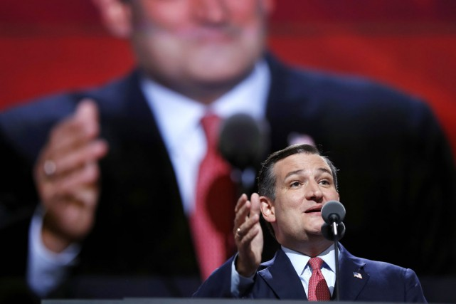 Le sénateur du Texas Ted Cruz lors de... (photo Carolyn Kaster, archives AP)