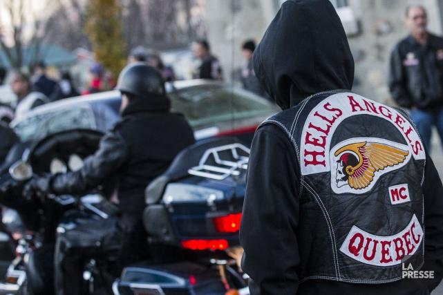 Plus de 500 membres et sympathisants des Hells Angels sont réunis ce week-end... (Archives La Presse)
