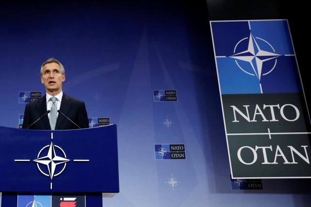 Le secrétaire général de l'OTAN Jens Stoltenberg, à... (photo Francois Lenoir, archives REUTERS)