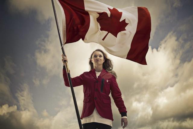 Rosie MacLennan... (Photo fournie par le Comité olympique canadien)