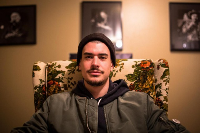 Le rappeur québécois Koriass... (PHOTOSIMON GIROUX, LA PRESSE)