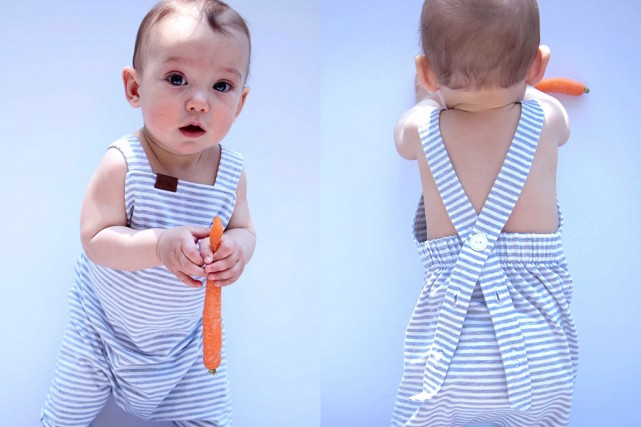 La mode pour enfants est en plein boom au Québec, avec l'émergence de petites... (Photo fournie par Lou Marine)