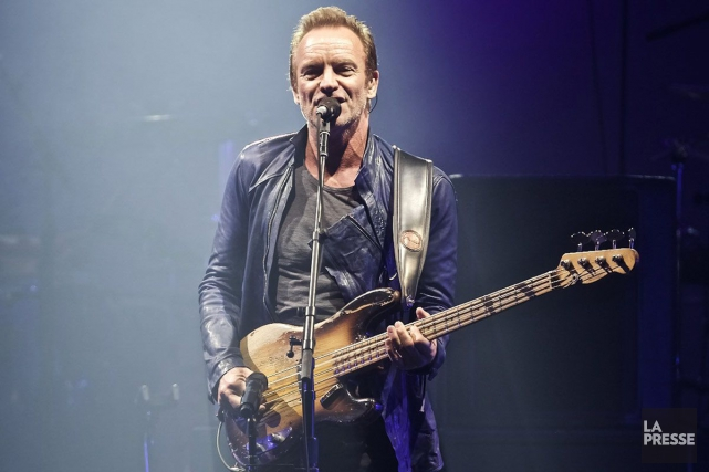 Sting a annoncé jeudi la sortie en novembre d'un 12e album studio marquant un... (Archives, La Presse)