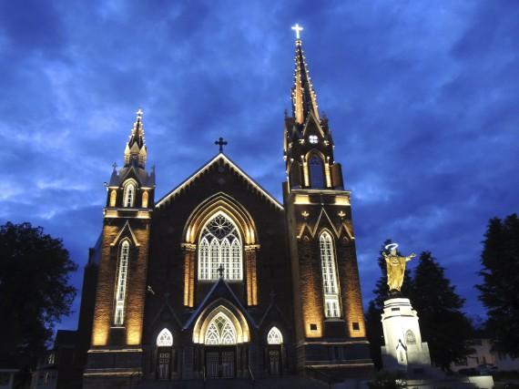 L'église Sainte-Agnès estfinaliste d'un prestigieux concours international, les... (Courtoisie MRC du Granit)