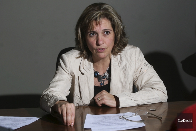 Marie Lemay, soutient que deux cas «d'atteinte à... (Etienne Ranger, Archives LeDroit)