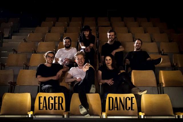 Les sept membres de la formation Eager Dance... (Fournie)