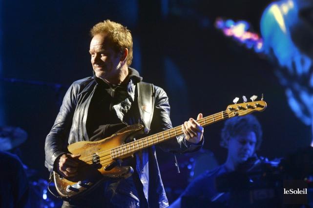 Sting, lors de son passage au Festival d'été... (Photothèque Le Soleil, Jean-Marie Villeneuve)