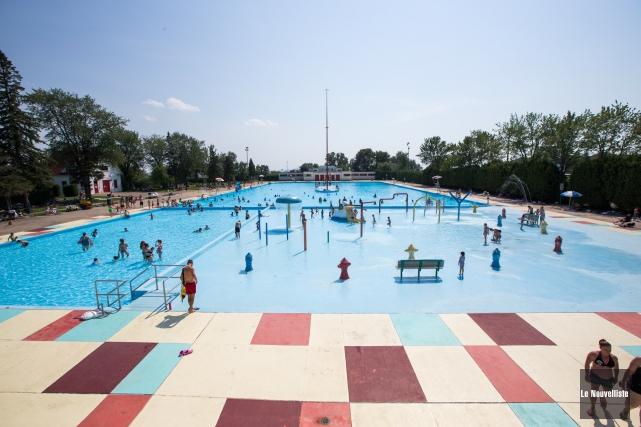 La piscine du parc de l'Exposition.... (Archives Le Nouvelliste)