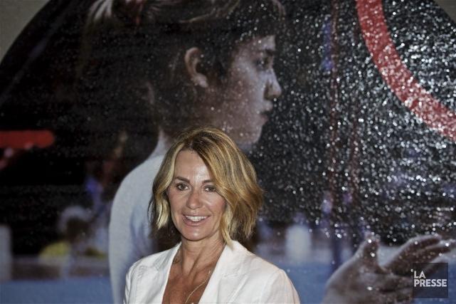 De passage à Montréal, l'ancienne gymnaste Nadia Comaneci... (La Presse, André Pichette)
