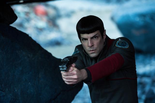 Spock, interpété parZachary Quinto, dans Sar Trek au-delà... (Photo fournie par Paramount Pictures)