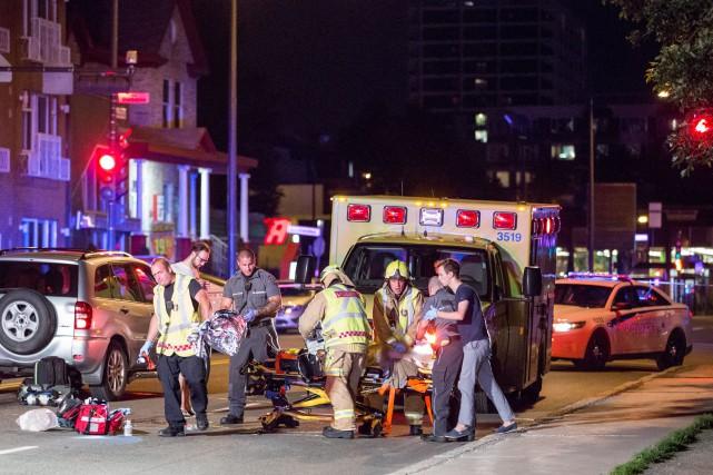 Un homme de Québec âgé de 71ans a perdu la vie jeudi soir après avoir été...