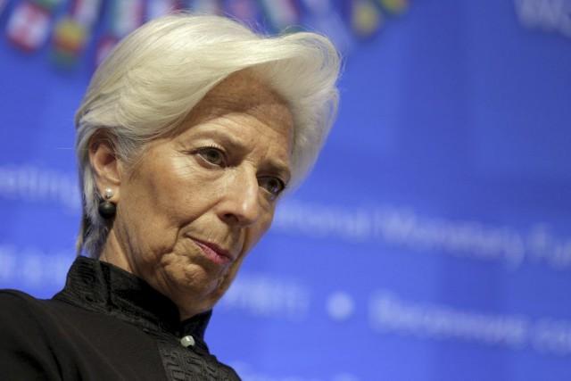 La directrice générale du Fonds monétaire international (FMI)... (PHOTO JOSHUA ROBERTS, ARCHIVES REUTERS)
