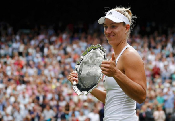 Angelique Kerber a perdu en finale à Wimbledon.... (photo Stefan Wermuth, reuters)