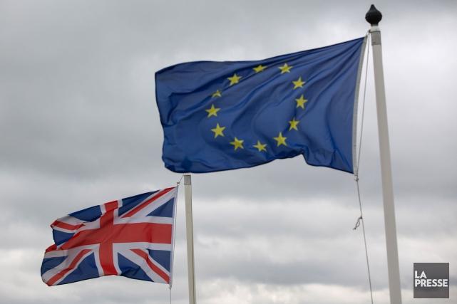 Dans la foulée du Brexit, l'économie britannique a connu une détérioration... (Photo d'archives)