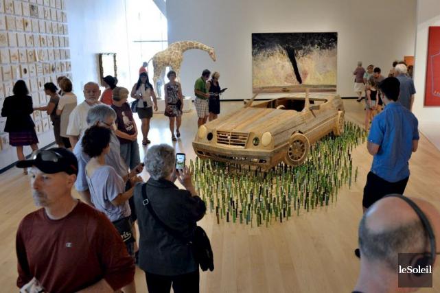 Parmi les expositions proposées,De Ferron à BGL. Art... (Le Soleil, Pascal Ratthé)