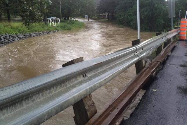 La route Madoc est temporairement fermée à la circulation, en raison du...