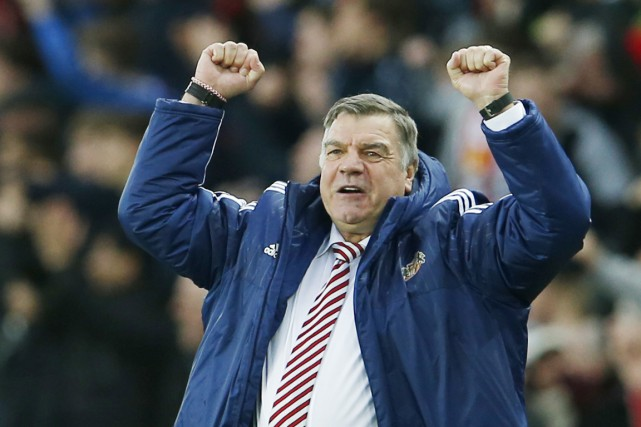 Sam Allardyce, à la tête de Sunderland la... (photo Lee Smith, archives REUTERS)